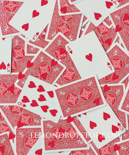 LemonDrop Shop Photography Backdrops Valentine Playing Cards – Valentine Playing Cards